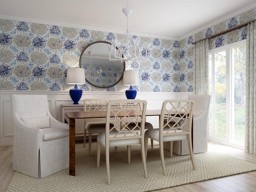 Dining Room by Claudia Josephine Design