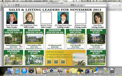 There we are, listing & sales leader