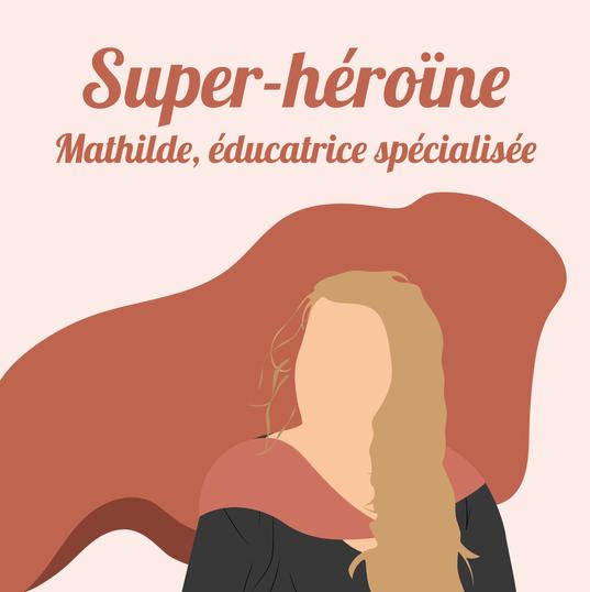 Mathilde, éducatrice spécialisée dans foyer d'hébergement qui accueille des personnes venant de la rue, SDF, sans-papiers et d'autres... à Dunkerque.