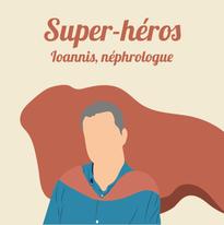 Ioannis, néphrologue à Paris, prête main-forte à ses collègues et soignants.