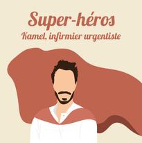 Kamel, infirmière urgentiste au centre hospitalier de Lens.