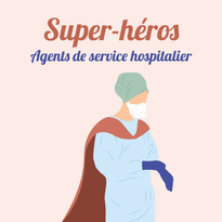 À toutes celles et ceux qui s'efforcent de nettoyer et décontaminer les hôpitaux : les agents de service hospitalier.
