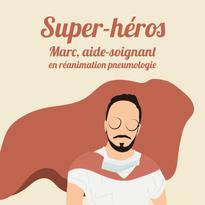 Marc, aide-soignant en réanimation pneumologie à Toulouse.