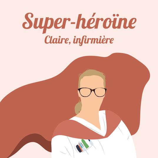 Claire, infirmière à Colmar.