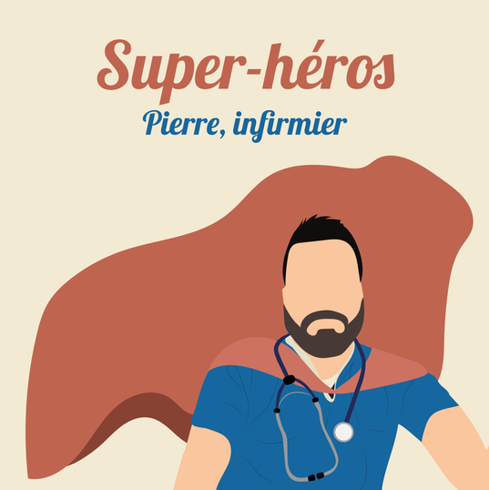 Pierre, infirmier à Paris.