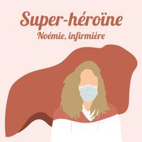 Noémie, infirmière en pédiatrie à Lens.