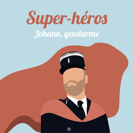 Johann, gendarme à Aubagne.