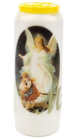 BOUGIES 9 JOURS DECORS SPIRITUELS / ANGES différents modèles