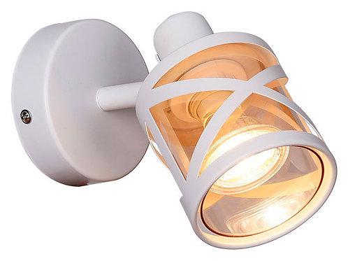 Foco sobrepuesto 1 luz GU10 CALI blanco mate (Sin ampolleta )