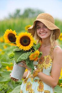 SunflowerDressandSunflowers.JPG