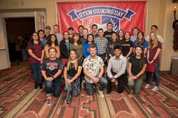 STEM SIGNING DAY HONOREES
