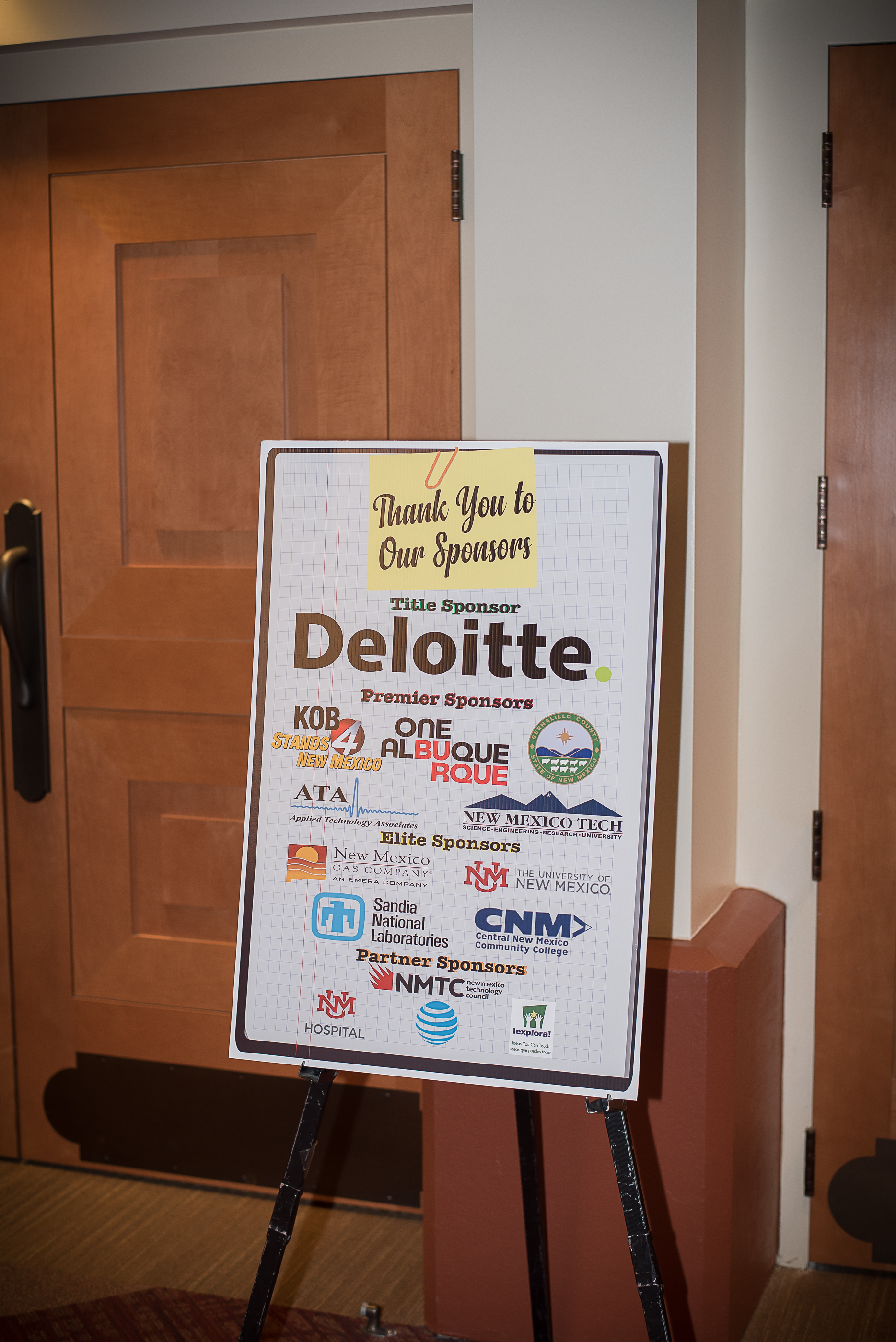 Thanks to our awesome sponsors