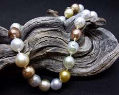 14 KY 11x10 Baroque Pearl Necklace