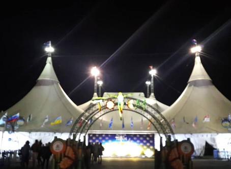 Aerial Arts visiting @ Cirque du Soleil