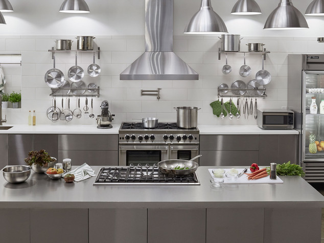 commercial kitchen set
