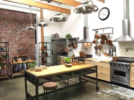 prep kitchen as a set