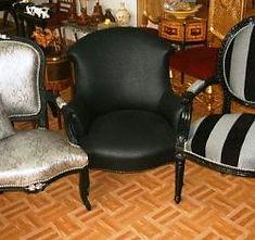 Tapisserie d'Ameublement, Restauration de meubles, de fauteuils anciens, réparation de chaises, cannage et rempaillage de siège, rideaux, parures de lits, céruse et lasure de meubles anciens, ébénisterie ...