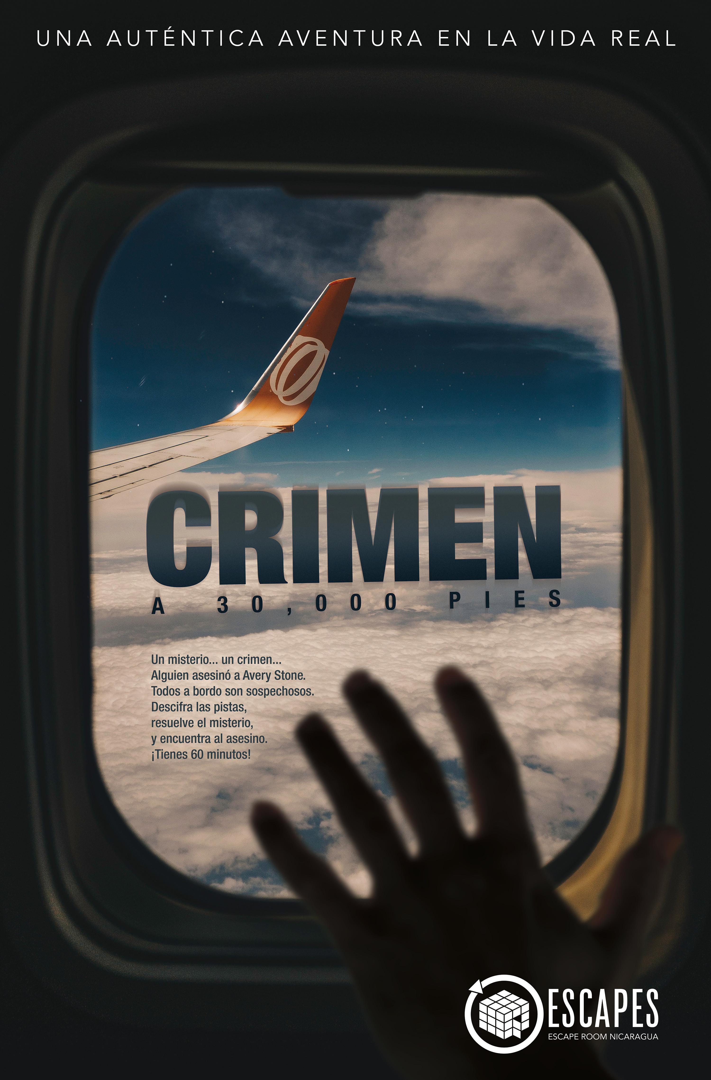 Crimen a 30 mil pies de altura (Enero)