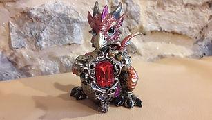 dragon_pierre_rouge_12_cm_haut_10_cm_lar