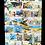 Thumbnail: Tintin & Haddock Au Pays De La Soif (Oeuvre Unique)