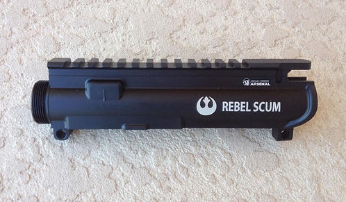 Engraved Upper Receiver - Rebel Scum