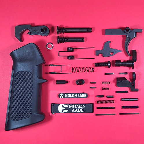 Molon Labe - Enhanced .308 Lower Parts Kit Extended Takedown Pins