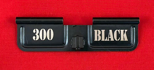 Laser Engraved Ejection Port - 300 Black