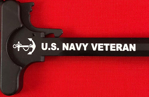 Charging Handle - Navy Veteran (5.56 or .308)