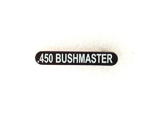 Engraved Magazine Catch - .450 Bushmaster