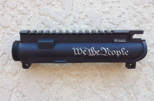 Engraved Upper Receiver - We The People