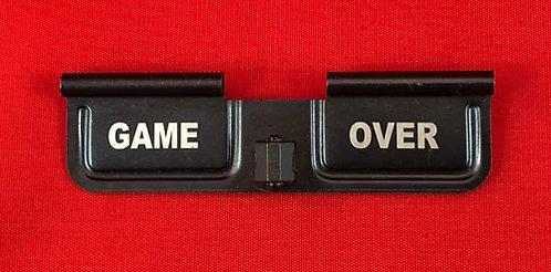 Laser Engraved Ejection Port - Game Over