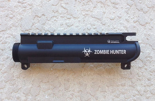 Engraved Upper Receiver - Zombie Hunter