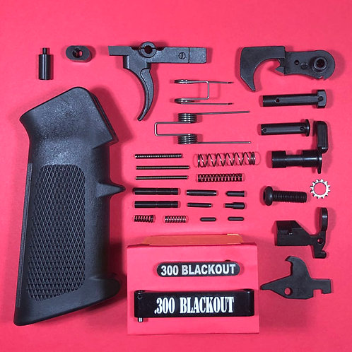 Dedicated Engraved 300 Blackout Lower Parts Kit - Complete!
