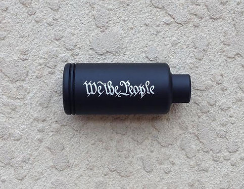 """Engraved KAK Industry Flash Can 1.200"""" - We The People"""