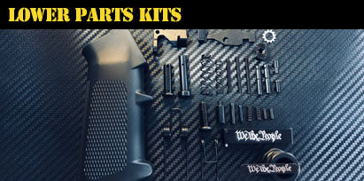 Engraved AR-15 Lower Parts Kits