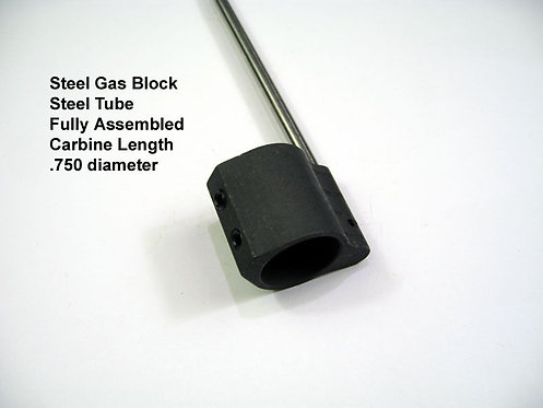 Steel Gas Tube Kit - Fully Assembled - Carbine or Pistol