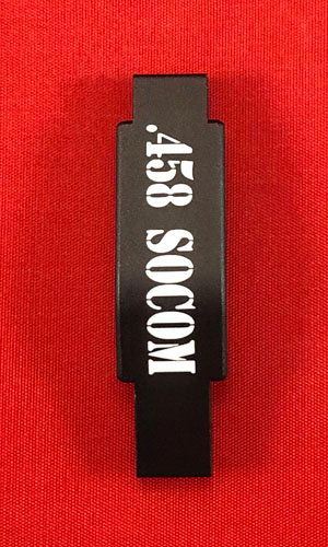 .223/5.56 Engraved Winter Trigger Guard - .458 Socom