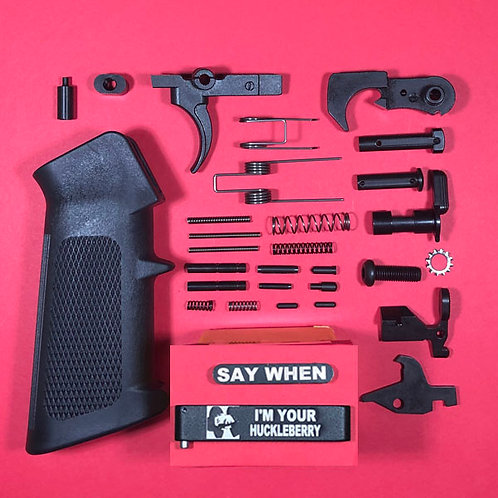 Tombstone Engraved Lower Parts Kit - Complete!