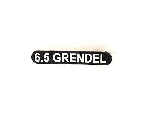 Engraved Magazine Catch - 6.5 Grendel