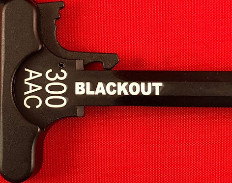 Charging Handle - 300 AAC Blackout