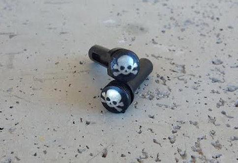Extended Takedown & Pivot Pin Set - Skull & Crossbones