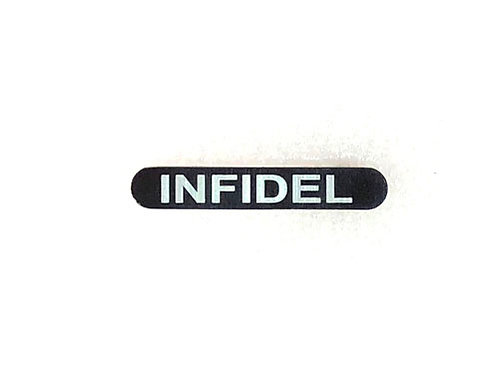 Engraved Magazine Catch - Infidel