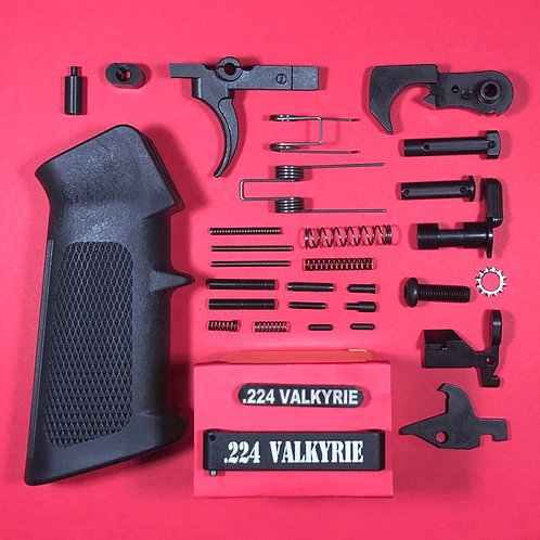 Dedicated Engraved .224 Valkyrie Lower Parts Kit - Complete!
