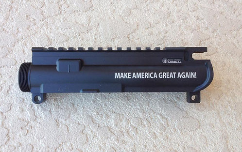 Engraved Upper Receiver - Make America Great Again