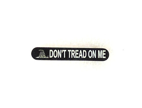 Engraved Magazine Catch - Don't Tread On Me