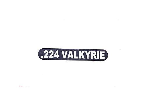 Engraved Magazine Catch - .224 Valkyrie