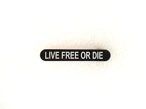 Engraved Magazine Catch - Live Free Or Die