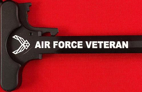 Charging Handle - Air Force Veteran (5.56 or .308)