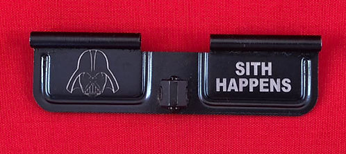 Laser Engraved Ejection Port - Darth - Sith Happens