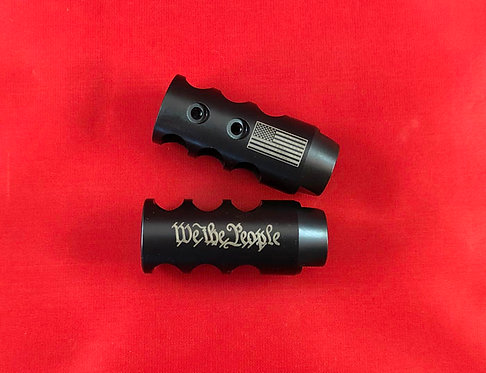 .223/5.56 or .308 Engraved Competition Muzzle Brake  - We The People